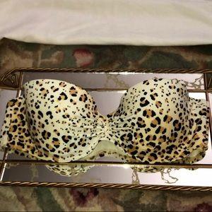 Victoria's Secret Animal Print Bikini Top